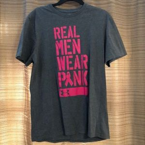 Men's Under Armour Breast Cancer  Awareness Tshirt